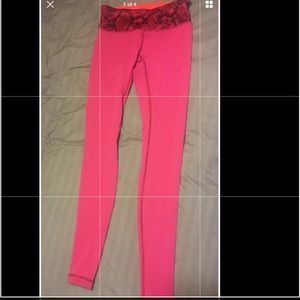 Lululemon Wunder Under Reversible Leggings Size 4